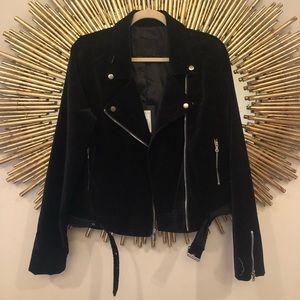 Paige Velvet Jacket NWT